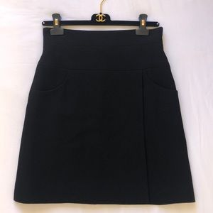Chanel wool skirt - Made in France - Authentic